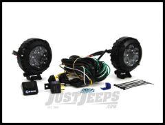 "KC HiLiTES 4"" Round LZR LED Driving Light System 300"