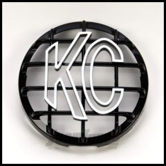 "KC HiLiTES 6"" Round Stone Guard In Black for Daylighters and SlimLite Lights 7210"
