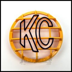 """KC HiLiTES 6"""" Round Stone Guard In Yellow for Daylighters and SlimLite Lights 7213"""