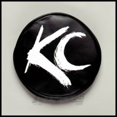 """KC HiLiTES 6"""" Soft Round Covers In Black In White 5117"""
