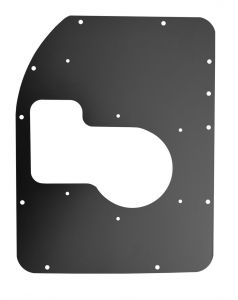 KeyParts Transmission Cover For 1980-1986 Jeep CJ-7 with Dana 300 XFER Case & T176/177 Transmission 0479-219