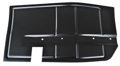 KeyParts Forward Exhaust Heat Shield For 87-95 Jeep Wrangler YJ 0480-311