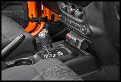 Daystar Lower Dash Vent Switch Panel For 2011-18 Jeep Wrangler JK 2 Door & Unlimited 4 Door Models With Automatic Transmission KJ71034BK