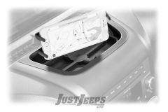 Daystar Upper Dash Panel with Cell Phone / GPS Mount For 2011-18 Jeep Wrangler JK 2 Door & Unlimited 4 Door Models KJ71057BK