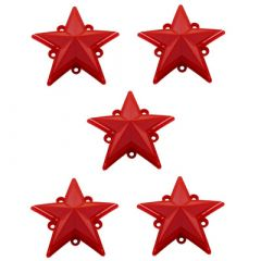 KMC XD827 Rockstar RS3 Colored Replacement Star (Pack of 5) XDSTAR-xx-PK