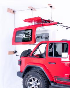 Lange Originals Crank Hoist-a-Top for 18+ Jeep Wrangler JL, JLU 014JL-