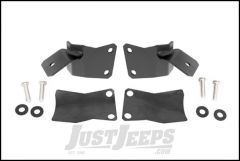 """Rough Country Lower A-Pillar 2"""" Cube Light Mounts For 1997-06 Jeep Wrangler TJ & TJ Unlimited Models 70046"""