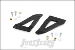 """Rough Country 20"""" Dual-Row & Single-Row LED Light Bar Grille Mounts For 2007-18 Jeep JK Wrangler 70633"""