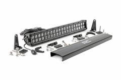 "Rough Country 20"" Cree LED Light Bar (Dual Row) Black Series 70920BL"