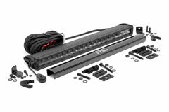 "Rough Country 20"" Cree LED Light Bar (Single Row) Black Series 70720BL"