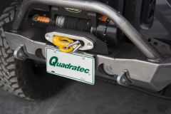 LoD Offroad Destroyer License Plate Mount for 07-18+ Jeep Wrangler JK, JL, & Gladiator JT JLP0701