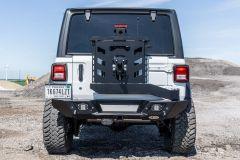 LoD Offroad Destroyer Rear Shorty Bumper with Tire Carrier for 18+ Jeep Wrangler JL, JLU JBC1801