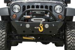 LoD Offroad Destroyer Shorty Front Bumper for 07-18 Jeep Wrangler JK JFB070-