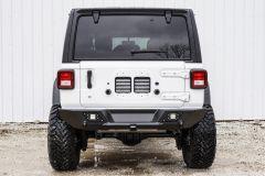 LoD Offroad Destroyer Shorty Rear Bumper for 18+ Jeep Wrangler JL, JLU JRB1801