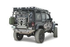 LoD Offroad Destroyer Shorty Rear Bumper for 07-18 Jeep Wrangler JK JRB0700-