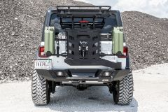 LoD Offroad Destroyer Rear Full Width Bumper with Tire Carrier for 18+ Jeep Wrangler JL, JLU JBC1841