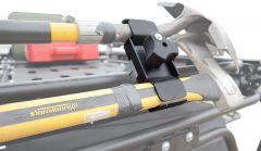 LoD Offroad Destroyer Roof Rack Trail Tool Mount (Single Mount) for 07-20+ Jeep Wrangler JK & JL Unlimited JTM0790