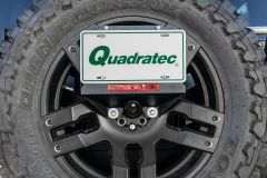 LoD Offroad Spare Tire License Plate Relocation Kit for 18+ Jeep Wrangler JL, JLU JLP1811