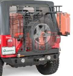 LoD Offroad Signature Series Rear Bumper with Tire Carrier for 97-06 Jeep Wrangler TJ JBC9601-