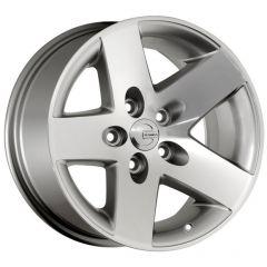 Mamba Offroad MR1X586500S MR1X Wheel in Silver for 84-06 Jeep Wrangler YJ, TJ, Cherokee XJ, Grand Cherokee ZJ MR1X586500S