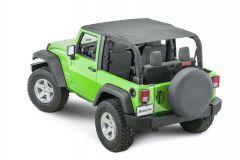 MasterTop Bimini Top Plus for 07-18 Jeep Wrangler JK 14300335