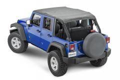 MasterTop Bimini Top Plus for 07-18 Jeep Wrangler Unlimited JK 14300435