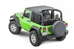 MasterTop Bimini Top for 07-18 Jeep Wrangler JK 14100335