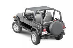 MasterTop Bimini Top for 87-95 Jeep Wrangler YJ 1410YJ-