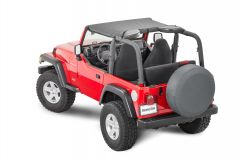 MasterTop Bimini Top for 97-06 Jeep Wrangler TJ 1410421TJ-