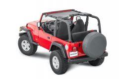 MasterTop ShadeMaker Mesh Bimini Top for 97-06 Jeep Wrangler TJ 1420TJ-