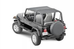 MasterTop Bimini Top Plus for 92-95 Jeep Wrangler YJ 1430YJP-