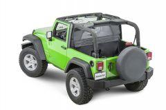 MasterTop Zip Down Windstopper for 07-18 Jeep Wrangler JK 14400335