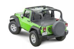MasterTop Tonneau Cover for 07-18 Jeep Wrangler JK 14500335