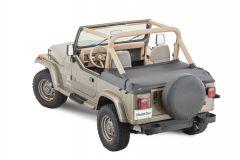 MasterTop Rear Tonneau Cover for 87-91 Jeep Wrangler YJ 14502135