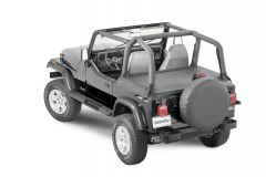 MasterTop Tonneau Cover for 92-95 Jeep Wrangler YJ 1450311YJ-