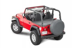 MasterTop Tonneau Cover in Black Diamond for 03-06 Jeep Wrangler TJ 14505235
