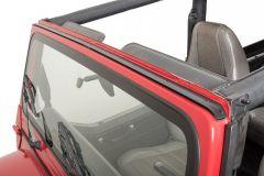 MasterTop Windshield Channel for 76-95 Jeep CJ & Wrangler YJ 14700101