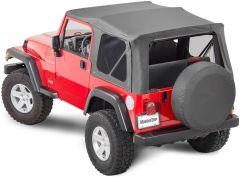 MasterTop Complete Top Kit for 97-06 Jeep Wrangler TJ 11132-