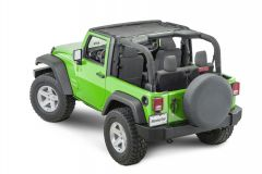 MasterTop ShadeMaker Freedom Mesh Bimini Top for 07-18 Jeep Wrangler JK 142013JK-