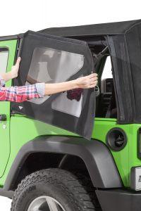 MasterTop Complete Replacement Soft Top Window Kits for 11-18 Jeep Wrangler JK 2-Door with Original Factory Soft Top 16010-
