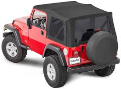 MasterTop Complete Soft Top Kits in MasterTwill Fabric for 97-06 Jeep Wrangler TJ 1113TJ-