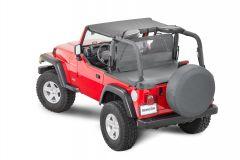 MasterTop Summer Combo Top in Black Diamond for 03-06 Jeep Wrangler TJ 11022.9106
