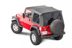 MasterTop Premium Replacement Soft Top with Tinted Windows for 97-06 Jeep Wrangler TJ 15101T-