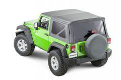 MasterTop Premium Replacement Soft Top for 07-18 Jeep Wrangler JK 1510JK-