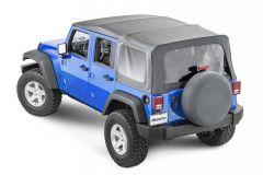 MasterTop Premium Replacement Soft Top for 07-18 Jeep Wrangler Unlimited JK 1510JKU-