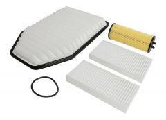 Crown Automotive Master Filter Kit For 2012-2013 Jeep Wrangler JK 2 Door & Unlimited 4 Door MFK23