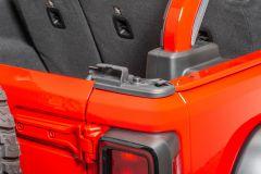 Mopar Tailgate Bar Retainer on 18+ Jeep Wrangler JL, JLU 68251541-