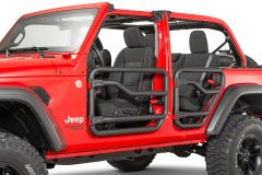 MOPAR Front & Rear Tube Doors For 2018+ Jeep Gladiator JT & Wrangler JL Unlimited 4 Door Models 77072498