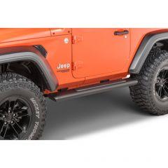 Mopar Tubular Side Steps for 18-21 Jeep Wrangler JL 82215-