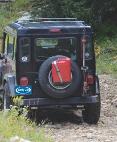 MORryde Spare Tire Jerry Can Mount for 87-18 Jeep Vehicles JP54-